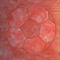 Формы для тротуарной плитки «Мяч» глянцевые пластиковые АБС ABS, фото 1