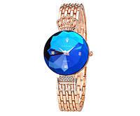 Женские часы Baosaili сапфир в огне gold-blue