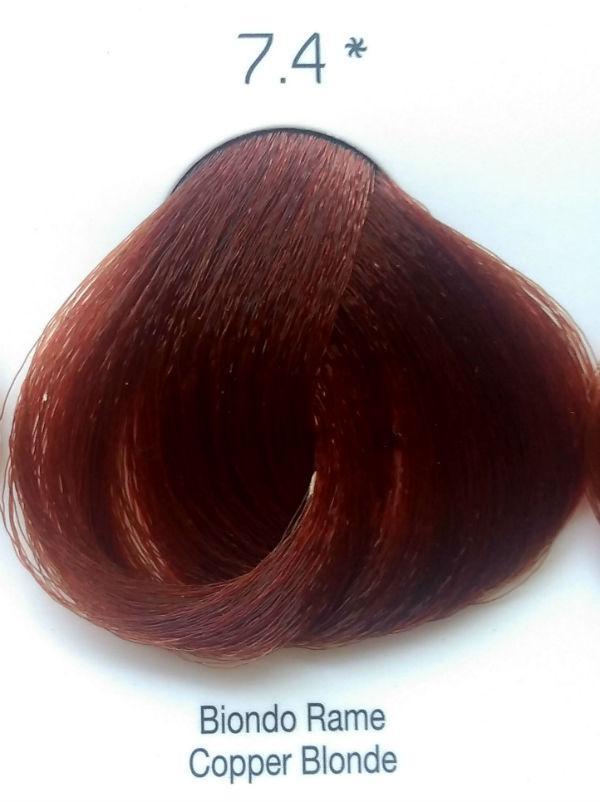 Стойкая крем-краска Color One KROM 7/4 медный блондин , 100 мл