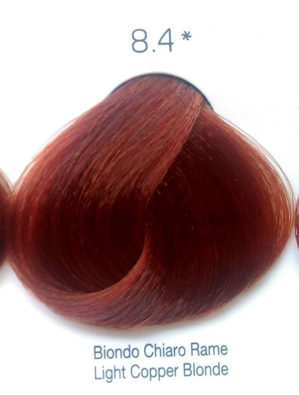 Стойкая крем-краска Color One KROM 8/4 Светло-медный блондин , 100 мл