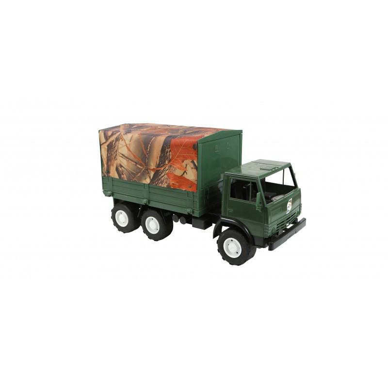 Іграшковий Автомобіль Х2 тентований військовий Оріон 884