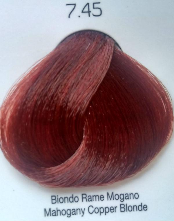 Стойкая крем-краска Color One KROM 7/45 Махагони-медный блондин , 100 мл