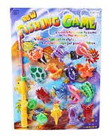Игра Рыбалка FishingGame развивающаяся, в комплекте: удочка, рыбки, 15 элементов