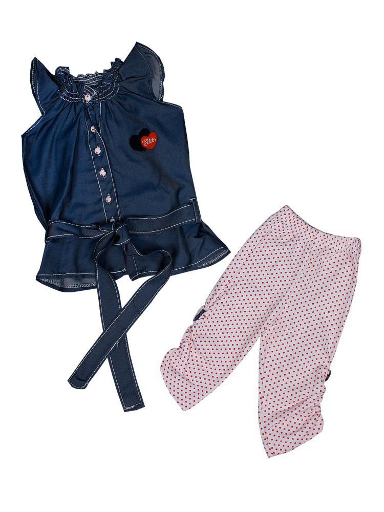 """Детский костюм-двойка для девочки """"Элит"""""""