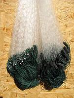 Сеть рыболовная одностенка ( дробинка ) 1.8х100 м ячея 55 для промышленного лова, фото 1
