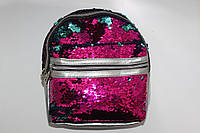 Рюкзак с двойными пайетками, фото 1