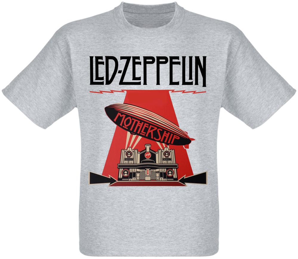 Футболка Led Zeppelin - Mothership (меланж)