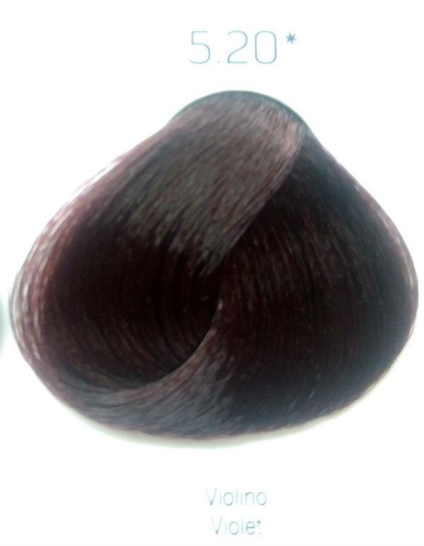 Стойкая крем-краска Color One KROM 5/20 фиолетовый , 100 мл