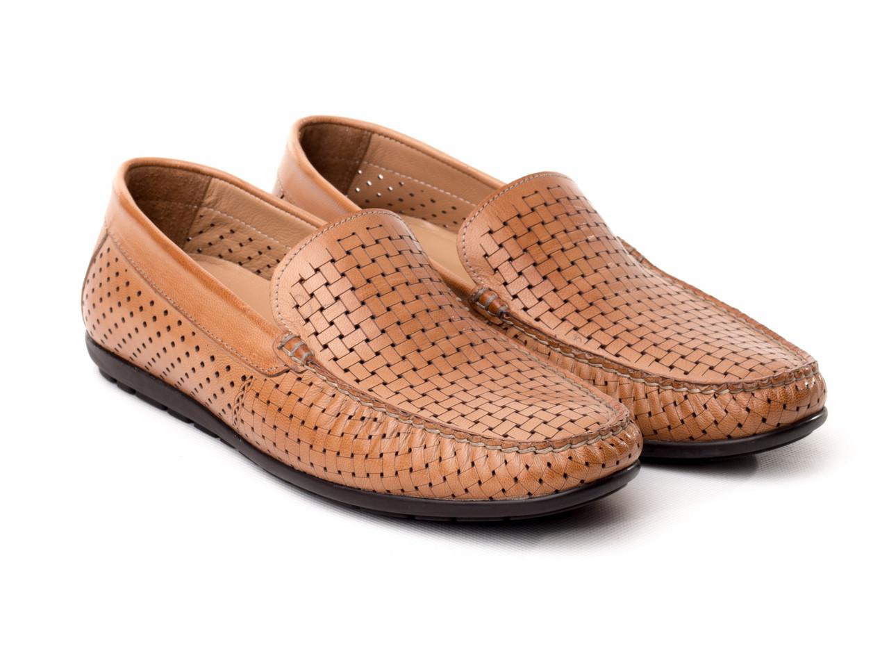 Мокасин BERTAN 14218-8935-2 45 коричневые