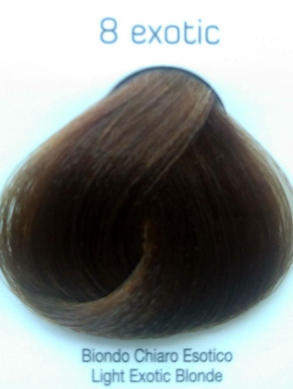 Стойкая крем-краска Color One KROM 8 exotic светло-экзотический блондин , 100 мл