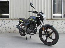 Мотоцикл HORNET GT-150 (150куб.см), мокрый асфальт, фото 3