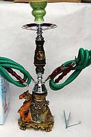Оригинально подарочный кальян верблюд на 2 персоны-высота 45 см