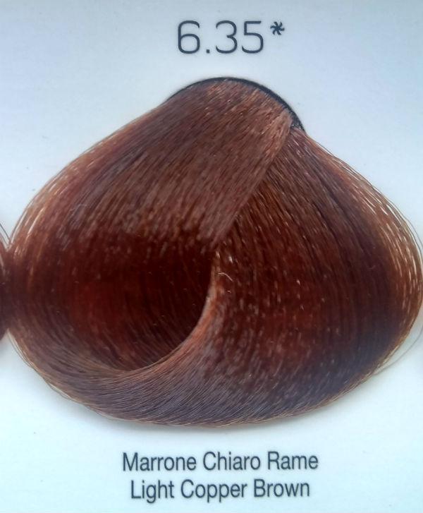 Стойкая крем-краска Color One KROM 6/35 Светлый медно-коричневый , 100 мл