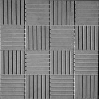 Формы для тротуарной плитки «Шоколадка» глянцевые пластиковые АБС ABS