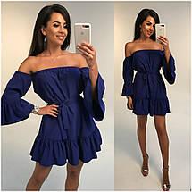 Летнее платье с открытыми плечами, фото 3