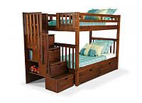 """Двухъярусная кровать из дерева """"Галлия"""" , фото 1"""