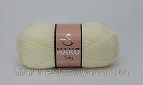 Пряжа для ручного и машинного вязания NAKO Super Bebe