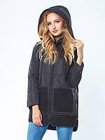 Куртка женская на синтепухе Pocket Black