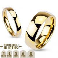 Обручальное кольцо R002 (4, 6, 8 мм)
