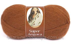 Пряжа для ручного и машинного вязания NAKO Super Angora