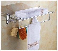 Поличка у ванну з гачками 6-021