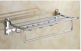 Полочка в ванную с крючками 6-021, фото 3