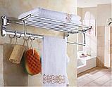 Поличка у ванну з гачками 6-021, фото 4