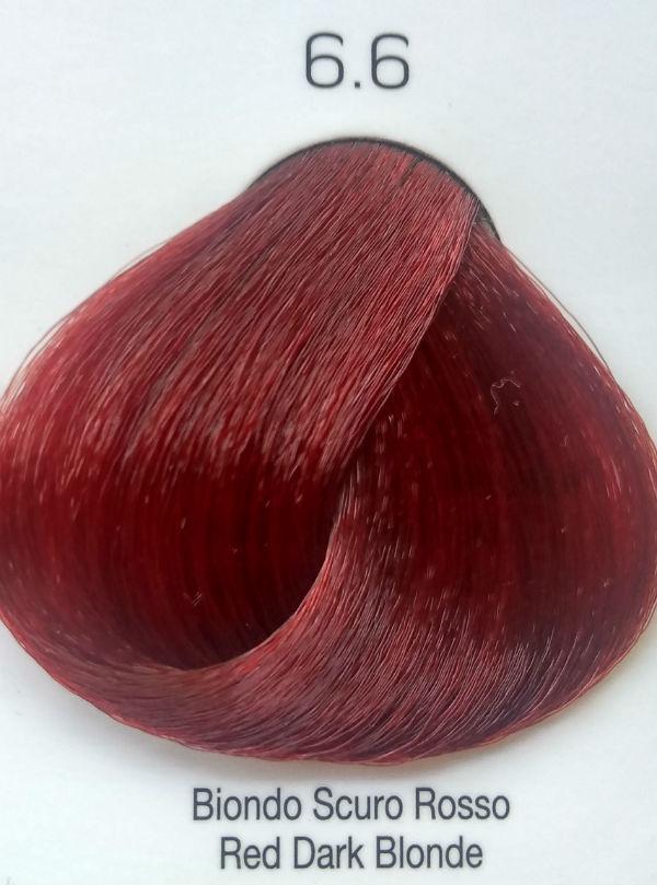 Стойкая крем-краска Color One KROM 6/6 Красный темно-коричневый , 100 мл