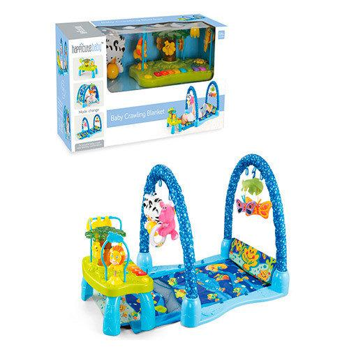 Коврик для младенца с музыкальным игровым столиком JDL555-23