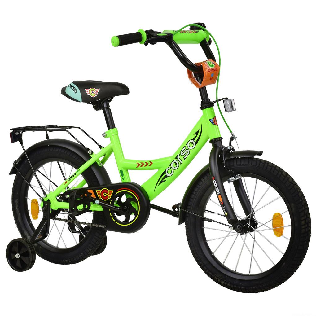 Велосипед CORSO Салатовый С-16760