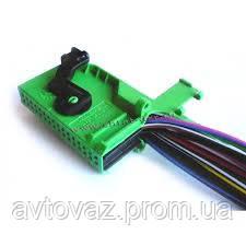 Разъём VDO в сборе с проводами для панелей приборов ВАЗ 1118 Калина, ВАЗ 2170 Приора