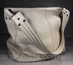 211  Натуральная кожа, Объемная сумка женская Сумка через плечо Кожаная сумка женская Кожаная сумка черная, фото 3