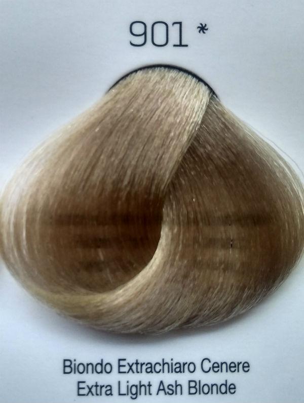 Стойкая крем-краска Color One KROM 901 Экстра светло-серый блондин , 100 мл