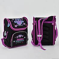 Рюкзак школьный N 00148 Сова 2 кармана, спинка ортопедическая