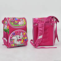 Рюкзак школьный N 00154 Кошечка 2 кармана, спинка ортопедическая