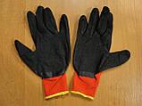 Перчатки рабочие синтетика 12пар/уп, фото 3