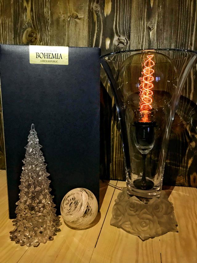 Настольная лампа Bohemia