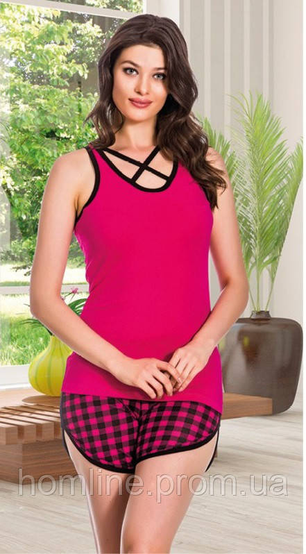 Женская одежда Lady Lingerie 7570 M комплект, майка шорты