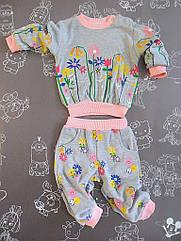 Детский костюм  Цветы для девочки на 6 месяцев