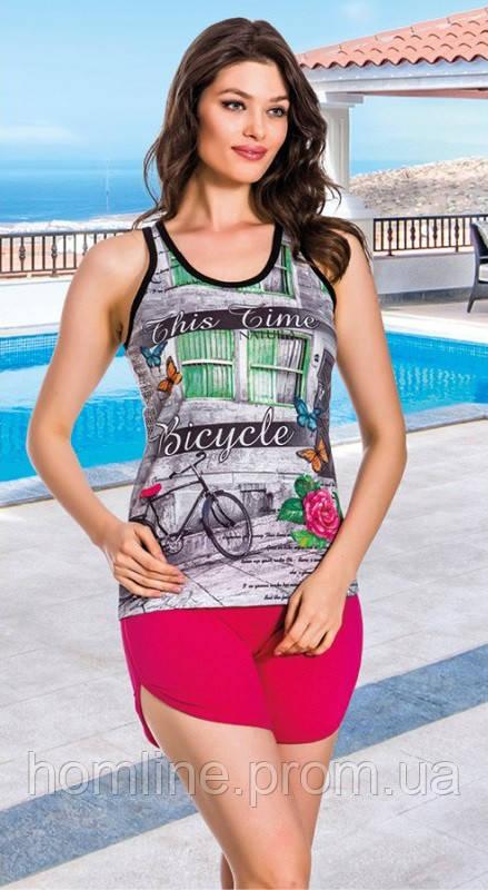 Жіночий одяг Lady Lingerie 7585 M комплект, майка шорти