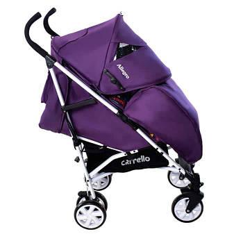 Коляска прогулочная CARRELLO Allegro CRL-10101 Kitty Purple во льне