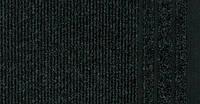 Ковровая дорожка на резиновой основе Rekord 866 черный(Рекорд)
