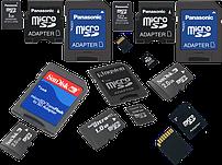 Карты памяти microSD (-11%)