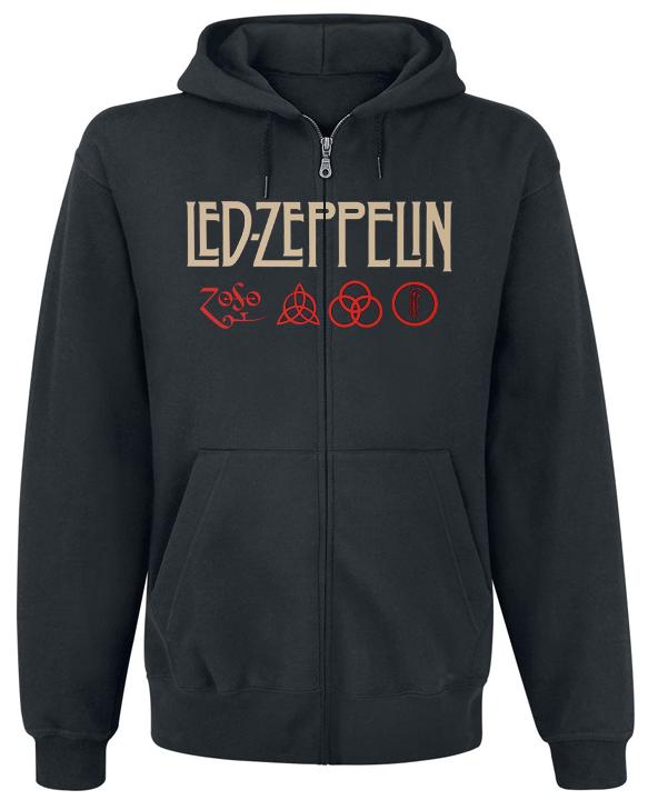 Толстовка з блискавкою Led Zeppelin - Mothership