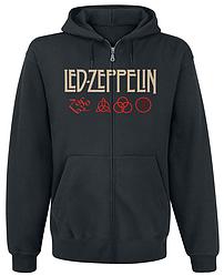 Толстовка с молнией Led Zeppelin - Mothership