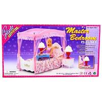 Кукольная мебель Глория «Спальня Барби» (2314)