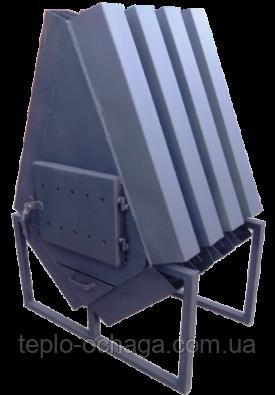 """Буржуйка для гаража """"TURBINA-700"""" 4 мм"""
