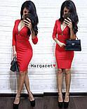 Женское облегающее платье с монией (3 цвета), фото 5