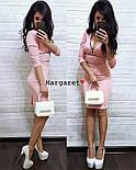 Женское облегающее платье с монией (3 цвета), фото 7