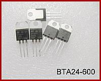 BTA24, симистор, 25А, 600V.